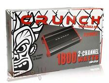 Crunch PZX1800.2 1800 watt 2 Channel Car Power Amplifier  Class AB/2CH
