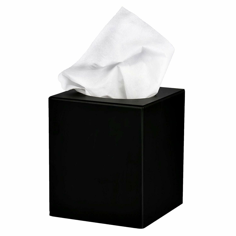 Facial Tissue Box Holder Rectangular Dispenser Elephant Straw Kleenex Cover Case