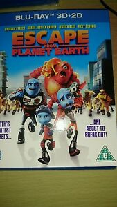 Escape from planet earth   bluray - <span itemprop='availableAtOrFrom'>Lancaster, United Kingdom</span> - Escape from planet earth   bluray - Lancaster, United Kingdom