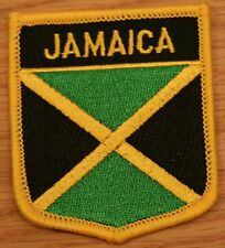 JAMAICA Jamaican Shield Country Flag Embroidered PATCH Badge P1