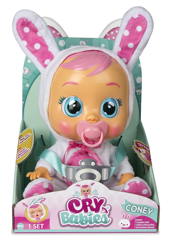 IMC Toys Baby weinend Coney llorá llorá llorá Tränen der Wahrheit und mit klingt Puppe b79413