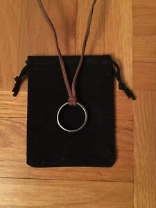 Uncharted Nathan Drake S Ring Necklace Pendant Ebay