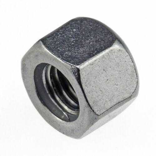 Sechskant-Hutmuttern niedrige Form DIN 917 Edelstahl A2