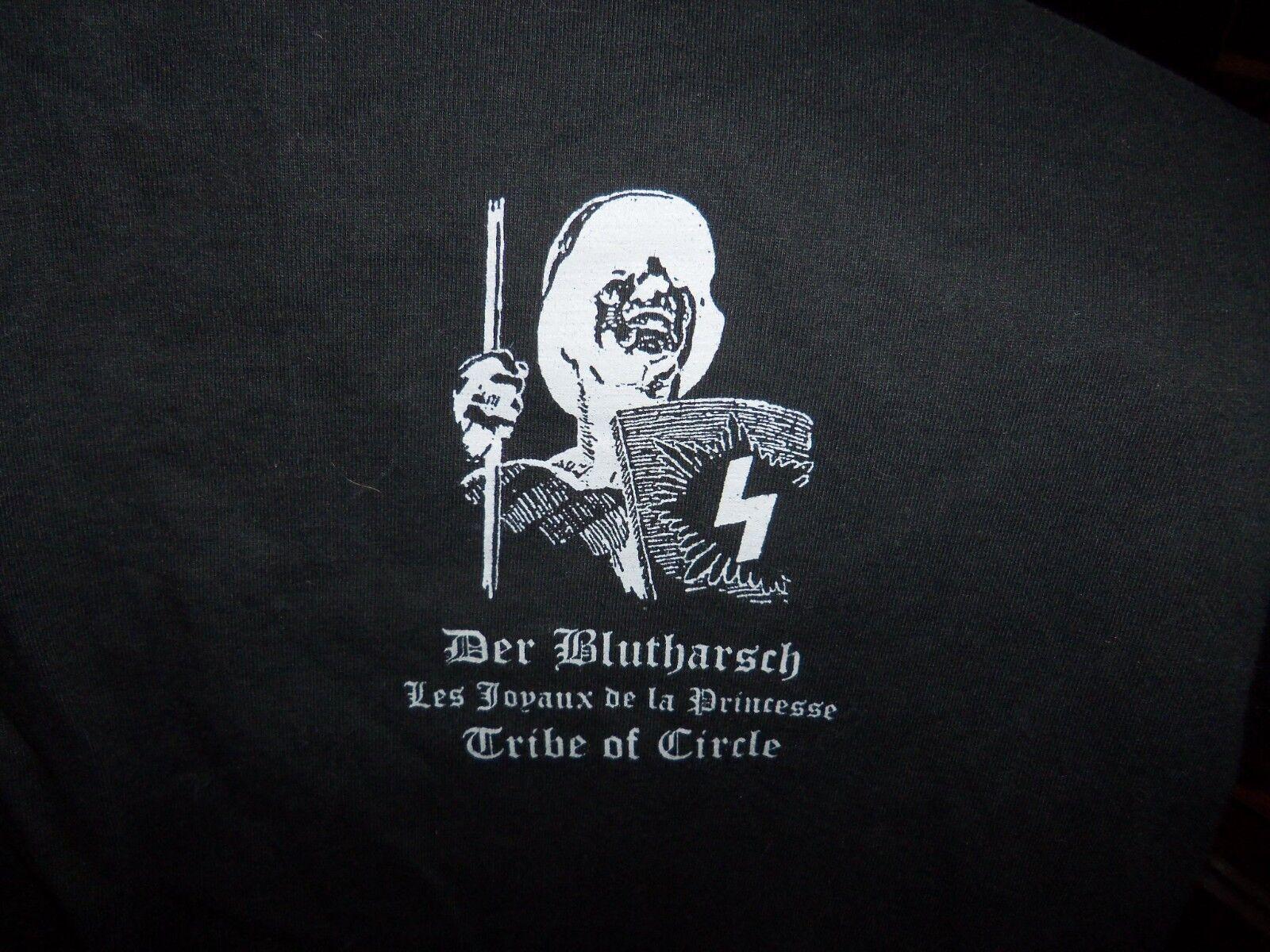 OFFICIAL DER BLUTHARSCH LJDLP TRIBE OF CIRCLE 2001 BRUSSELS FEST T-SHIRT M-SIZE