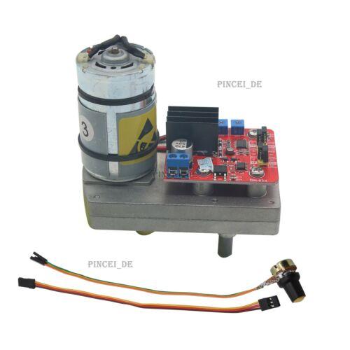 DC12V 24V 380kg.cm Servo High Torque Steel Gear w// Potentiometer for Robot DE
