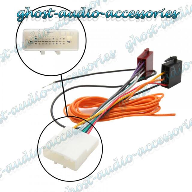 car stereo radio iso wiring harness connector adaptor cable for rh ebay co uk nissan juke wiring harness nissan wiring harness plugs