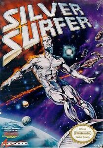Silver Surfer - Authentic Nintendo NES Game