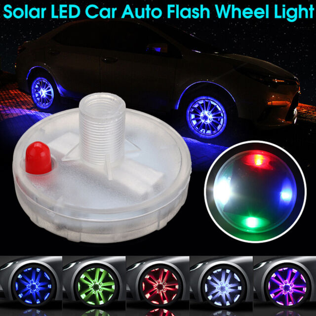 RGB LED Tyre Valve Cap Light Flashing Car Bike Motorcycle Wheel Tire Decor Light