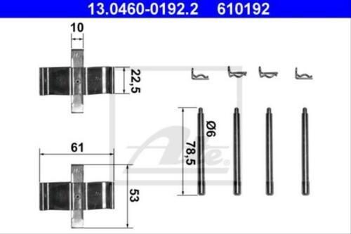 Original ATE 13.0460-0192.2 Zubehörsatz Scheibenbremsbelag