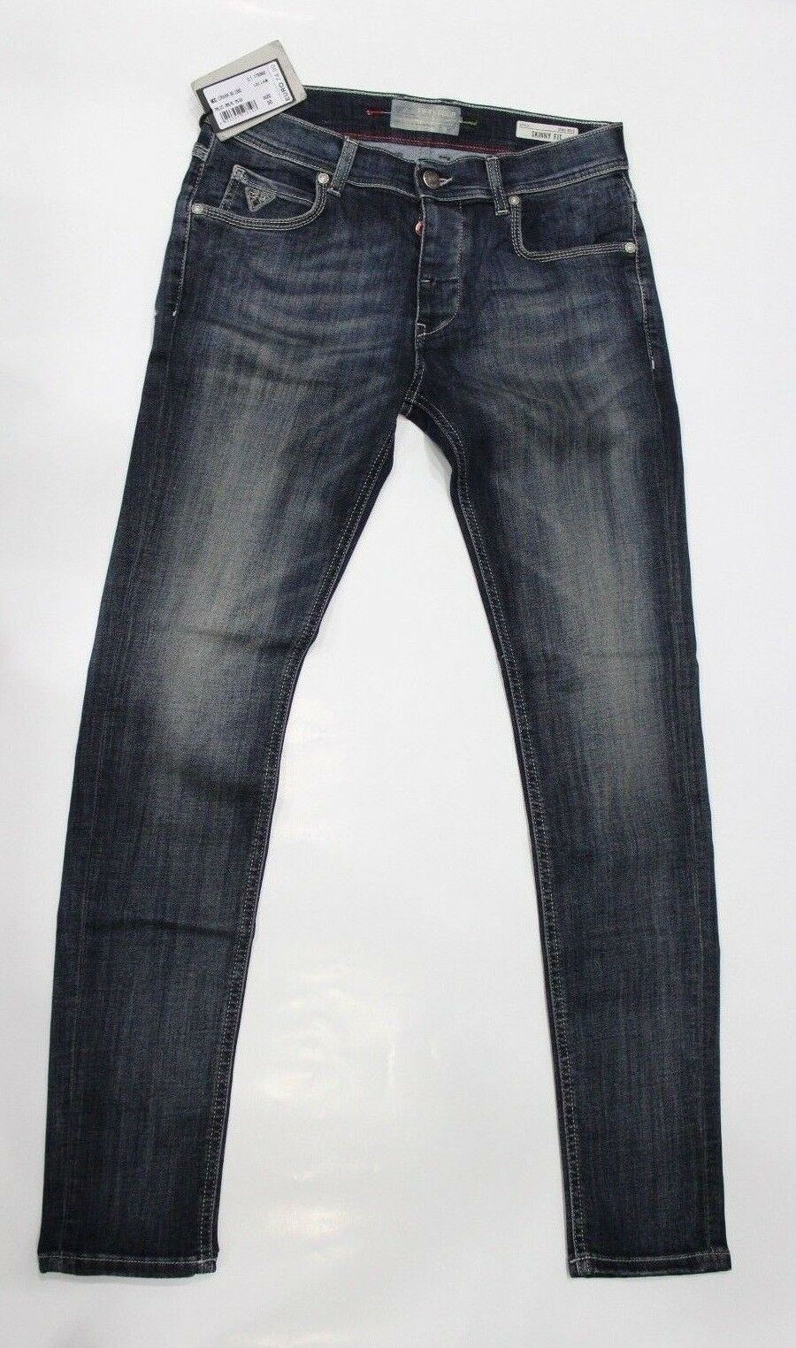 FIFTY FOUR Crank Jeans Pantalone Pantalone Pantalone Uomo Skinny Fit edc42b