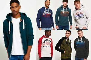 New-Mens-Superdry-Hoodies-Selection-Various-Styles-amp-Colours-181218