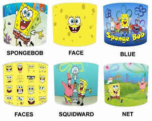Lampshades Ideal To Match Spongebob Duvets  Spongebob Wall Decals - Spongebob room decals