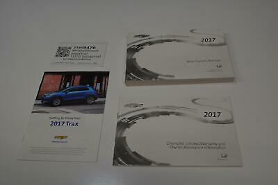 2017 Chevy Chevrolet Trax Owners Manual Book Guide A1624 Ebay