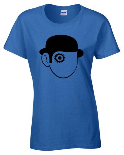 Clockwork Orange Womens Ladies T Shirt Retro Film Cult Classic