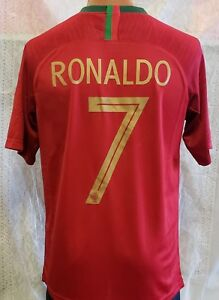 sale retailer 5ded4 e0354 Details about New! Portugal National Team 2018 RONALDO Jersey