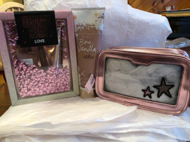 Victoria's Secret Love Mist + Lotion Travel Gift Set + Bare Vanilla Lotion 8oz