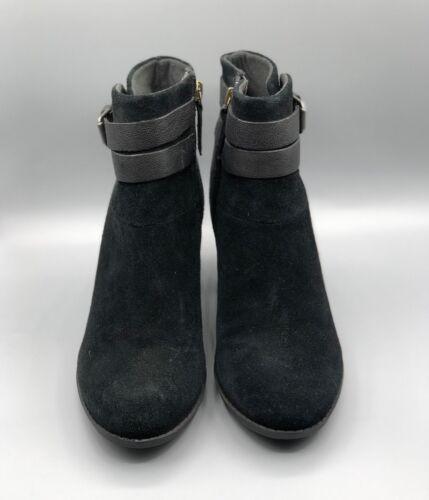 de Clarks Uk enfield Nuevo River D botines negro ante elegantes Black qBnSt6