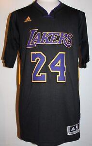 NEW Kobe Bryant Los Angeles Lakers Hollywood Nights Black Swingman ... 2b4a17001