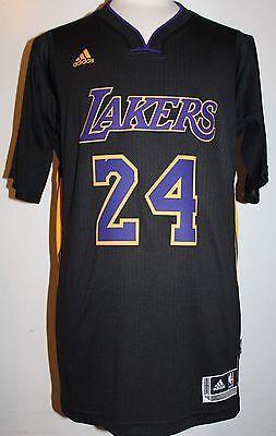 NEW Kobe Bryant Los Angeles Lakers Hollywood Nights Black Swingman ...