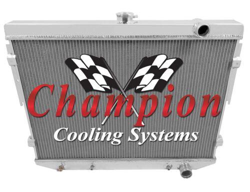 3 Row Ace Champion Radiator for 1975 1976 1977 1978 Chrysler Cordoba V8 Engine