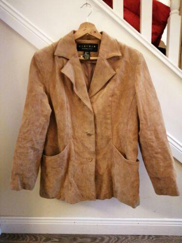 300 Condicin la de los chaqueta las cuero de de mujeres Excelente Impresionante Rrp de Medio Tamao elementos 4aqRH6