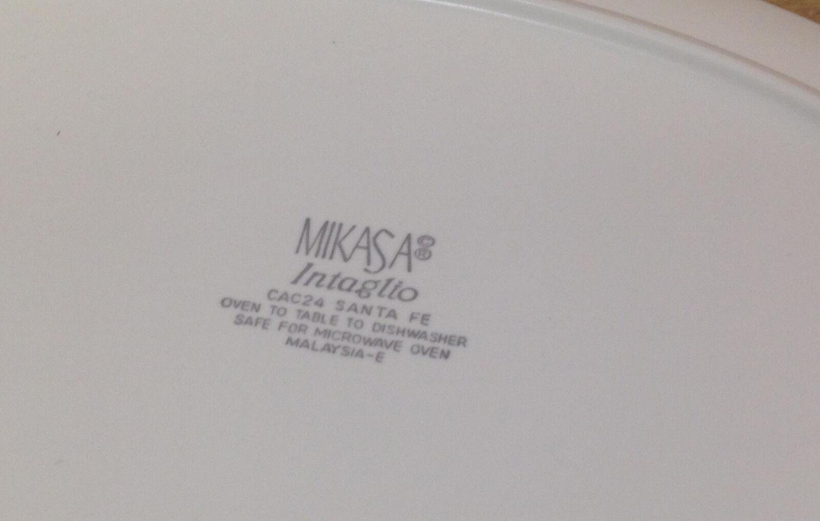 Mikasa Santa Fe Fe Fe CAC24 Southwest Intaglio Gemüse Servierschale Largest 24.1cm   Billiger als der Preis  51dd43
