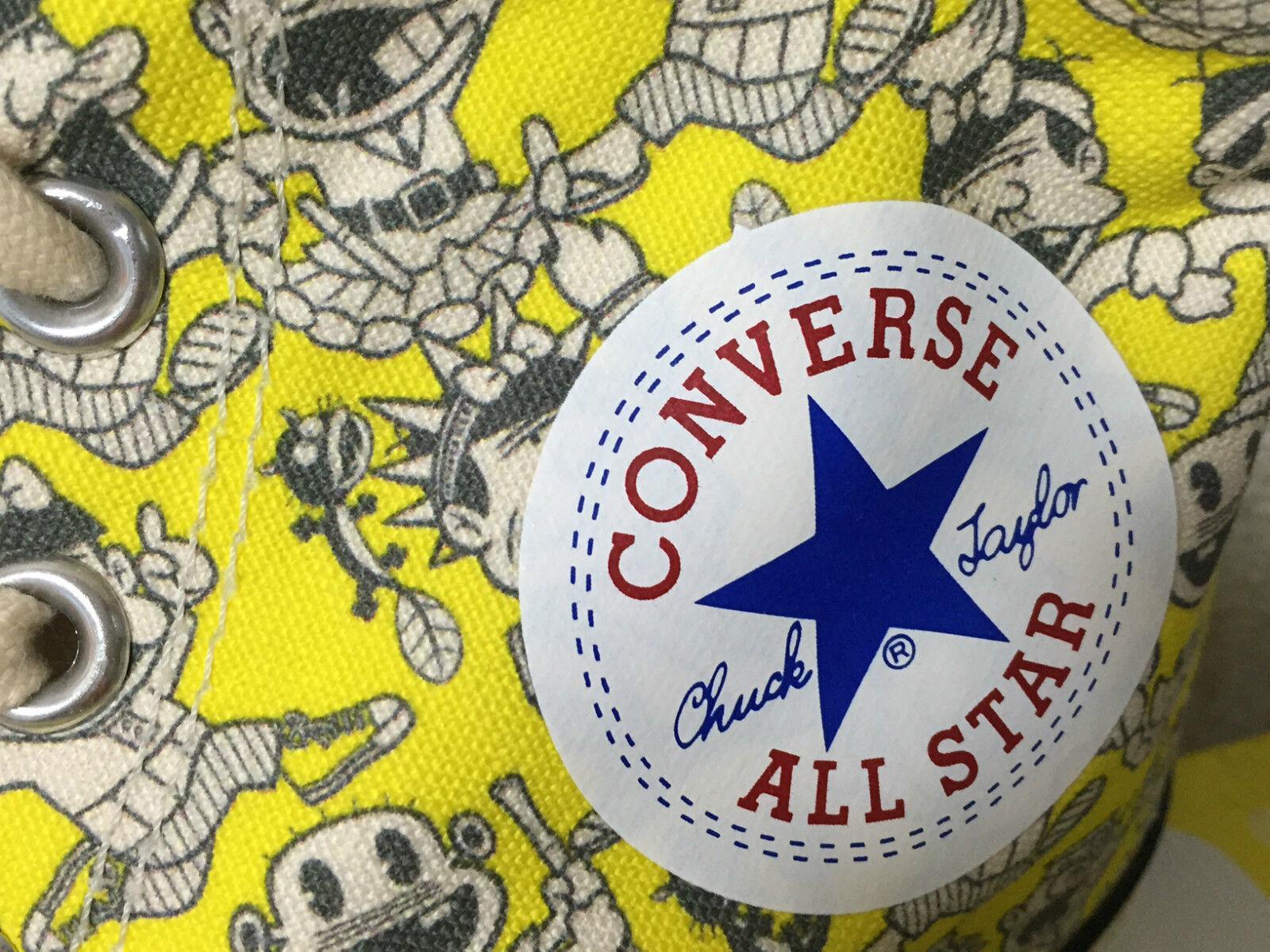 Converse Allstar Chuck Taylor cómico japonés bakabon One Star