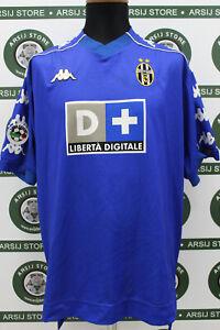 Maglia-calcio-OLISEH-JUVENTUS-TG-L-99-00-shirt-trikot-camiseta-maillot-jersey