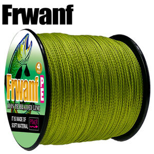 Japanese-Super-Strong-PE-Braided-Fishing-Line-Army-Green-500M-Multifilament-Line