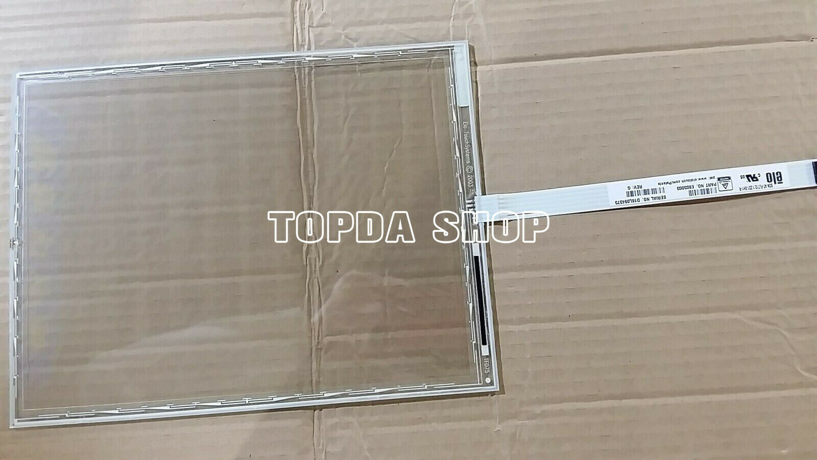 1Pcs ELO SCN-A5-FLT13.3-F30-0H1-R Touch Screen Glass