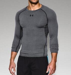 2fbfb4807 Under Armour Men s HeatGear Armour Long Sleeve Compression Shirt ...