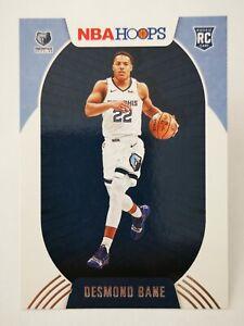 Panini Hoops 2020-21 N21 card NBA Rookie RC #246 Desmond Bane Memphis Grizzlies