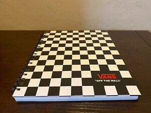 Vans-off-The-Wall-Family-Exclusive-Black-amp-White-Checkerboard-8-5-034-X11-034-Notebook