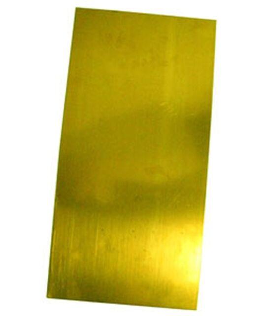 """Brass Sheet Plate .032/"""" 20 gauge 4/"""" x 12/"""""""