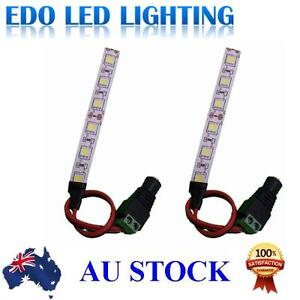 2-X12V-5050-10cm-waterproof-LED-STRIP-LIGHT-BARS-CAR-TRUCK-CAMPING-CARAVAN-BOAT