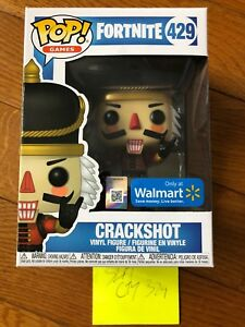 New Funko Pop Games Fortnite S1 Crackshot Walmart Exclusive