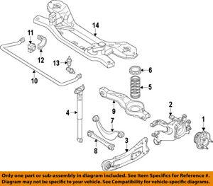 s l300 ford oem 13 18 focus rear suspension spring insulator dv6z5586b ebay