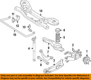 FORD-OEM-12-13-Focus-Rear-Suspension-Coil-Spring-CV6Z5560A
