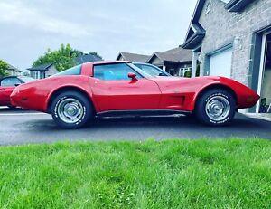 1979 Chevrolet Corvette T-TOP, 4 speed manual, 350ci