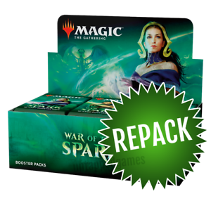 Details about War of the Spark Booster Box Repack! 36 Opened MTG Packs In  Box