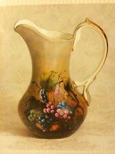 Vineyard Blessings Porcelain Pitcher designed by Lisa White Arts Uniq