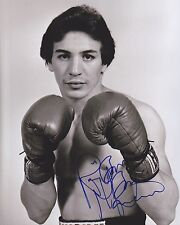 "RAY ""BOOM BOOM"" MANCINI Signed Autograph Auto 8x10 Boxing Picture Photo W/COA"