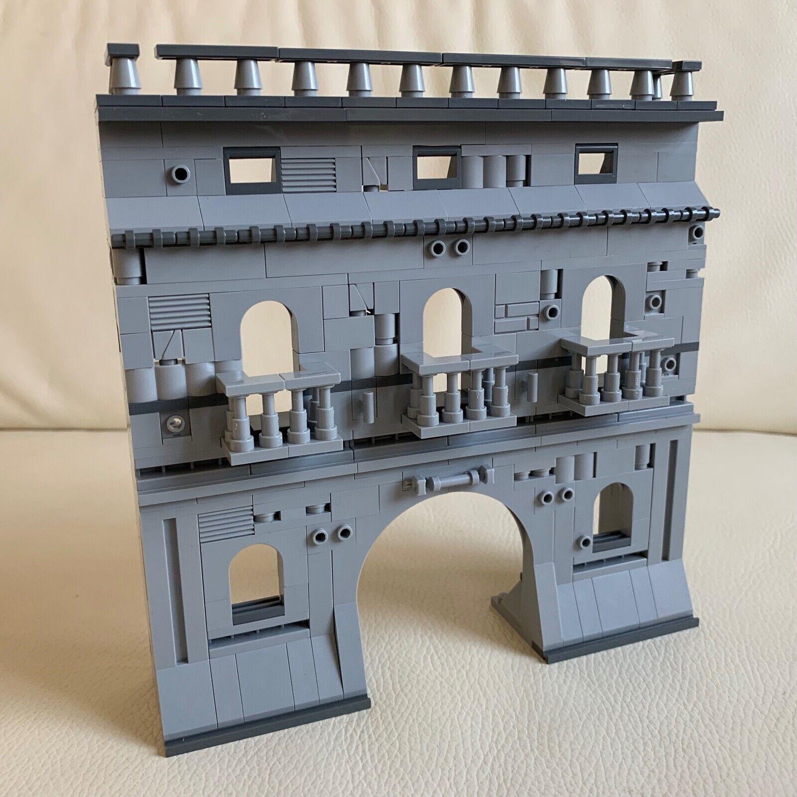LEGO original parts parts parts European RUINS BUILDING playable solid DIORAMA my design 85 53dc3c