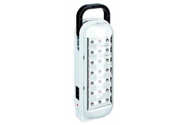 Plafoniera Con Lampada Di Emergenza : Lampada di emergenza dp led bianchi light ricaricabile