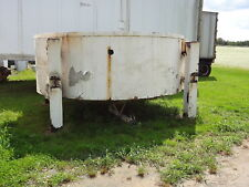 304 Stainless Steel Open Top Cone Bottom Storage Tank Holding 3000 3500 Gallons