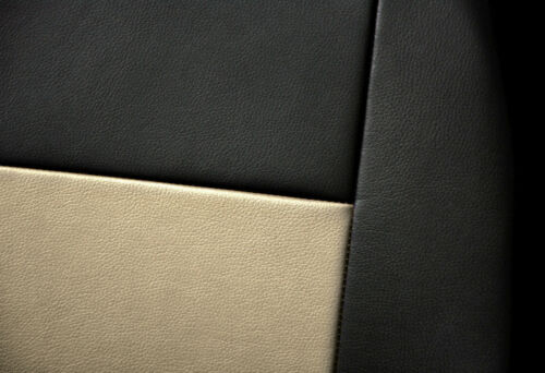 Leatherette car seat covers fit MERCEDES B CLASS Eco-leather black//beige