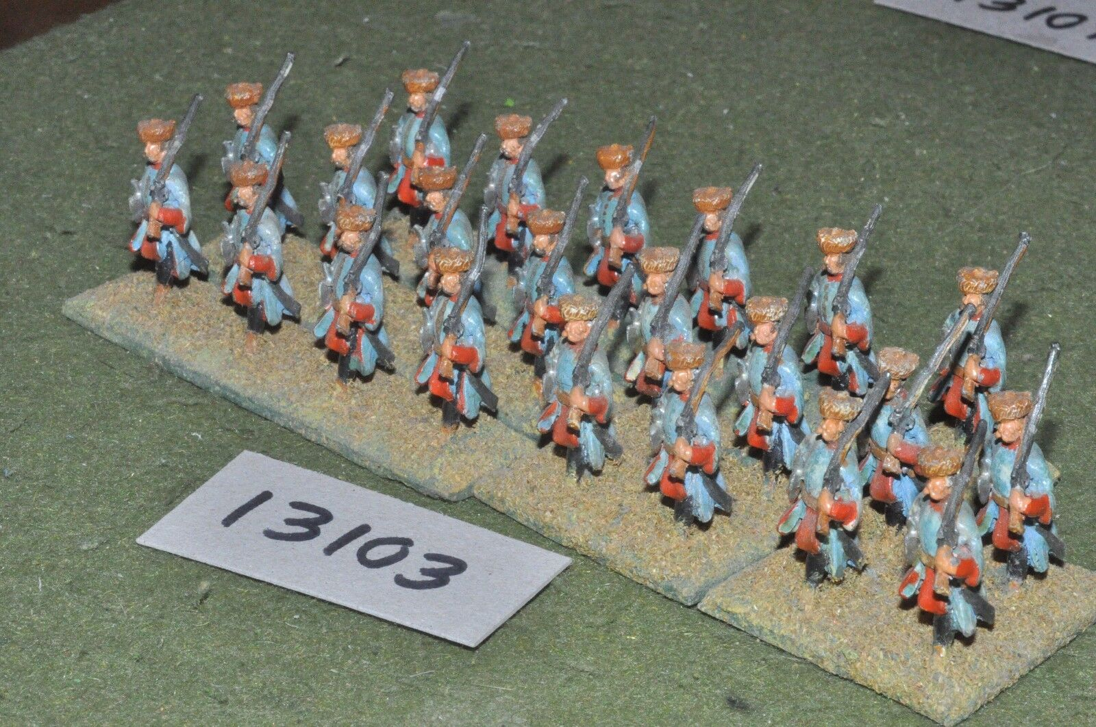 25mm renaissance   polish - infantry 22 infantry - inf (13103)