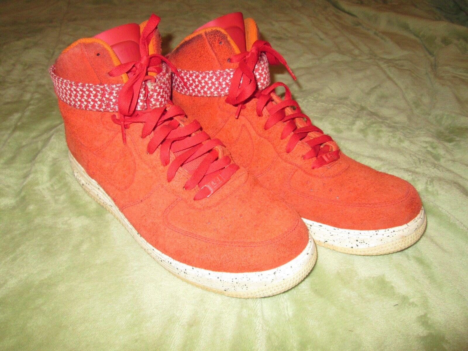 Nike Lunar Force 1 Hi UNDFTD SP Orange 652806 660 - mens 12