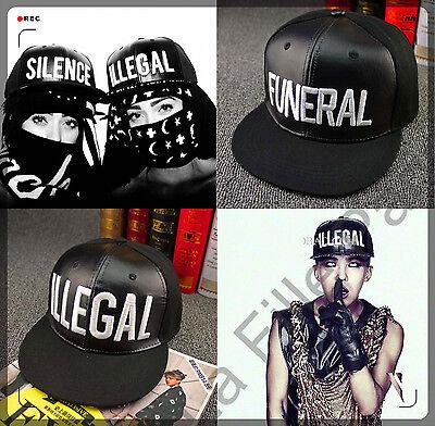 2015 NEW KPOP Snapback Hat Man woman Baseball Hip Hop EXO illegal funeral