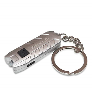 Mini Keychain Light BEKLA Rechargeable led Keyring Torch